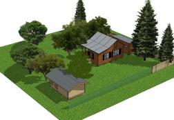 Проект загородного участка